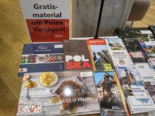 Piękne materiały o Polsce z biura promocji w Sztokholmie.